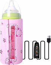 J-ouuo Milk Bottle Warmer,USB Insulated Bag Baby