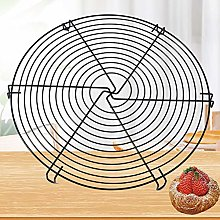 J-ouuo Non-Stick Cooling Rack Round Metal Baking