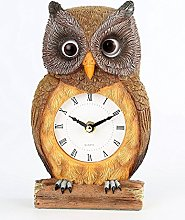 J.S.N.Y. Owl Clock with Moving Eyes