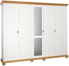Jabari 5 Door Wardrobe August Grove