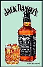 Jack Daniel Bottle Mirror - 30cm x 20cm