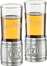 Jack Daniels Metal Barrel Shooter Set (2)