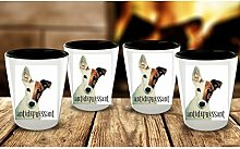 Jack Russell Terrier Dog Lovers Funny Shot Glass