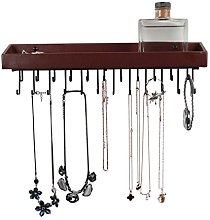 JackCubeDesign Hanging Jewellery Organiser