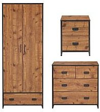 Jackson 3 Piece Package - Kids 2 Door, 1 Drawer