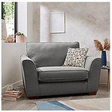 Jackson Fabric Snuggle Chair