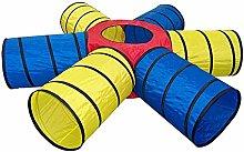 JACKWS Kids Tent Kids Play Tunnels, Indoor For