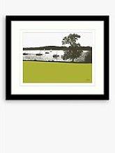 Jacky Al-Samarraie - Lake Windermere Framed Print