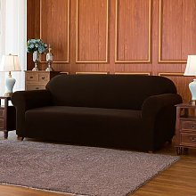 Jacquard High Stretch Box Cushion Sofa Slipcover