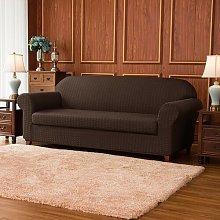 Jacquard Stretch Box Cushion Sofa Slipcover