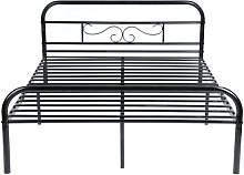 Jacque Double (4'6) Bed Frame Williston Forge