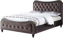 Jacques Upholstered Bed Frame Rosalind Wheeler