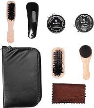 Jadeshay Shoe Care Kits - 8PCS Leather Shoes Care