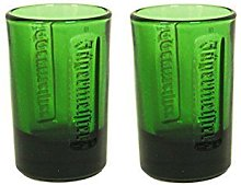 Jagermeister Shot Glass Green 2PK