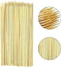 JagMor 100 Wooden Bamboo Skewers Sticks Wooden
