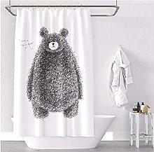 Jaguar pattern wild shower curtain liner cheap