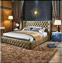 Jake Upholstered Bed Frame Willa Arlo Interiors
