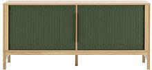 Jalousi Dresser - / L 161 cm - Wood & plastic