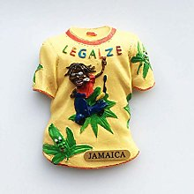 Jamaica Fridge Magnets Sticker Refrigerator