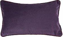 Jamel Cushion Cover Canora Grey Colour: Aubergine