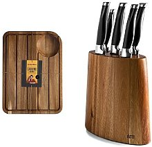 Jamie Oliver Carving Board with Acacia Knife