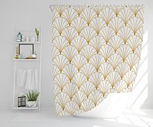 Jamila Polyester Shower Curtain Set Canora Grey