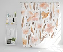 Jammie Polyester Shower Curtain Set Rosalind