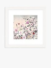Jane Morgan - 'Poppy & Pinks' Framed Print