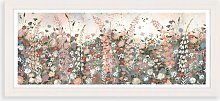 Jane Morgan - Pink Meadow Framed Print & Mount,
