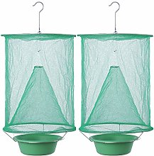JanJean Hanging Fly Insect Trap Net with Bait