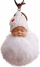 Janly Clearance Sale Womens Keychains, Cute Fur
