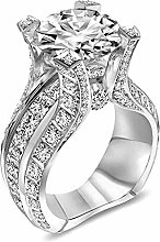 Janly Clearance Sale Womens Rings, Silver Ring