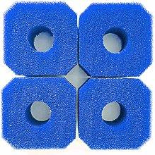Jannyshop 4PCS Swimming Pool Sponge Filters