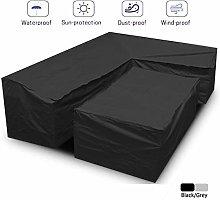 Janolia 2pcs Furniture Protective Covers, Garden