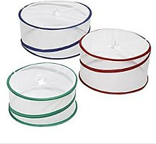 Janoon 3pc Collapsible Food Protector Covers