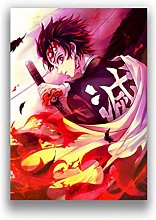 Japanese Anime Demon Slayer Picture Art Canvas
