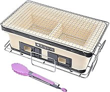 Japanese Ceramic Clay Charcoal Grill with Charcoal