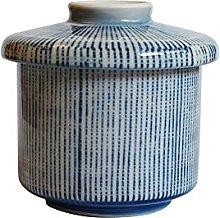 Japanese Chawanmushi Cup with Lid, Seto-mono, Made