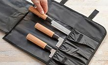 Japanese Knife Set with Carrying Case: One