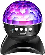 JAQ Led Crystal Magic Ball Light Disco Lights with