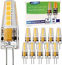 JAUHOFOGEI 10 Pack G4 Capsule LED Bulbs (2 watt),