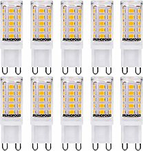 JAUHOFOGEI 10 Pack G9 3W Capsule LED Light Bulbs,