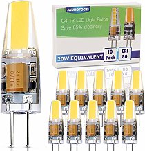 JAUHOFOGEI G4 LED Bulbs 12V Cool White, 2 watt
