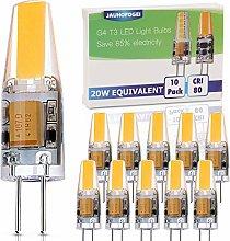 JAUHOFOGEI G4 LED Bulbs 12V Warm White, 2 watt