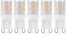 JAUHOFOGEI G9 Capsule LED Light Bulbs, 2W 240Lm,