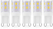 JAUHOFOGEI G9 Capsule LED Light Bulbs, 2W 250Lm,