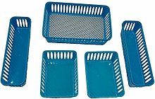 Java 10 Piece Assorted Size Organizing Storage Bin