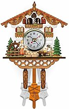 Jaxonn Home Mini Cuckoo Clock, Black Forest house