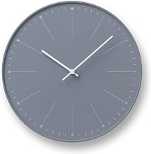 Jayla 29cm Wall Clock Mercury Row Colour: Dark grey