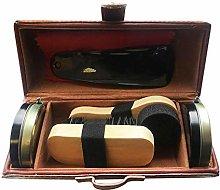 Jazooli Shoe Cleaning Care Kit Set for Brown Black